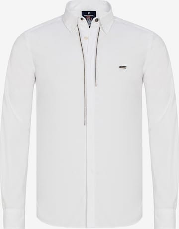 Jimmy Sanders Hemd in Weiß