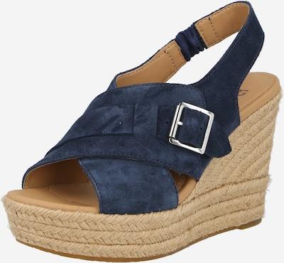 UGG Remienkové sandále 'CLAUDEENE' - námornícka modrá, Produkt
