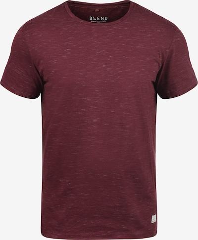 BLEND Rundhalsshirt 'Barnd' in dunkelrot, Produktansicht