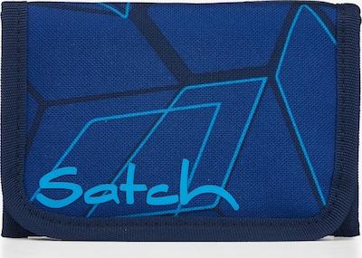 Satch Geldbörse in blau / dunkelblau, Produktansicht