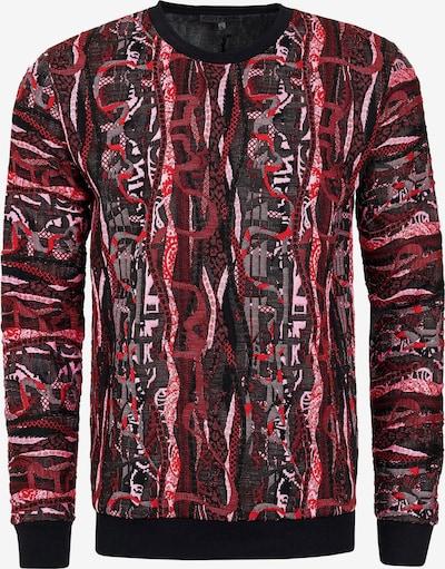 Rusty Neal Sweatshirt in rot, Produktansicht