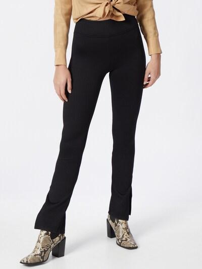 Gina Tricot Leggings 'Yara' en noir, Vue avec modèle