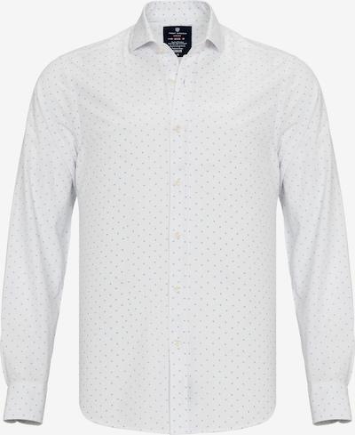 Jimmy Sanders Hemd in hellblau / weiß, Produktansicht
