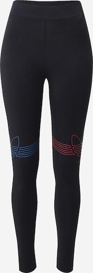 ADIDAS ORIGINALS Leggings in neonblau / feuerrot / schwarz, Produktansicht