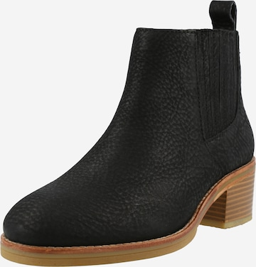CLARKS Chelsea Boots 'Cologne' in Schwarz
