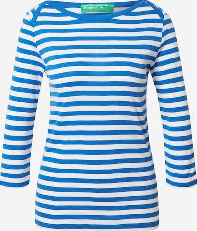 UNITED COLORS OF BENETTON Majica u nebesko plava / bijela, Pregled proizvoda