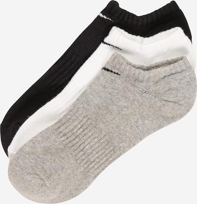 NIKE Skarpety sportowe w kolorze szary / czarny / białym, Podgląd produktu