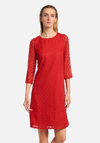 Uta Raasch Kleid in rot, Modelansicht