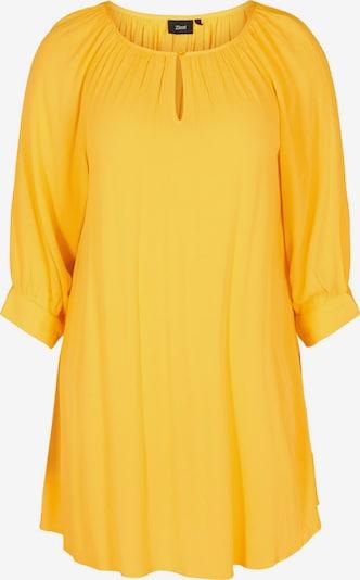 Zizzi Tuniek 'Erose' in de kleur Limoen, Productweergave
