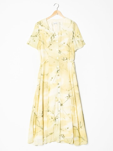 GERRY WEBER Dress in L-XL in Yellow