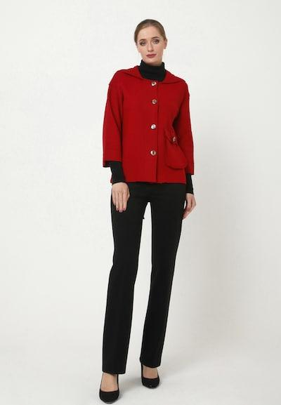 Madam-T Blazer 'PIRA' in rot, Modelansicht