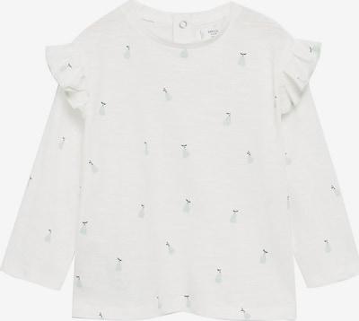 MANGO KIDS Shirt 'PEARS' in de kleur Navy / Pastelblauw / Wit, Productweergave