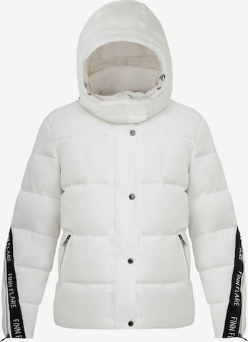 Finn Flare Winter Jacket in White