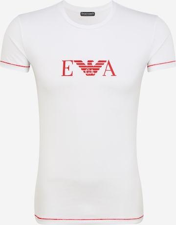 T-Shirt Emporio Armani en blanc