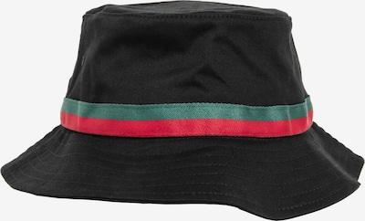 Cappello Flexfit di colore verde / rosso / nero, Visualizzazione prodotti