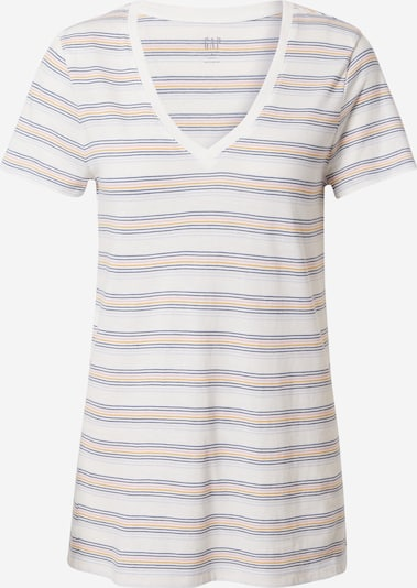 GAP Shirt in dunkelblau / goldgelb / hellgrau / pastellpink / weiß, Produktansicht