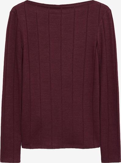 MANGO Тениска 'Barca' в бургундово червено, Преглед на продукта