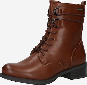 TOM TAILOR - Botines en marrón