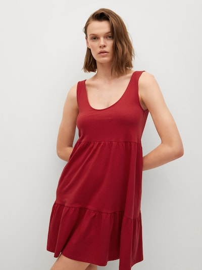 piros MANGO Ruha 'Maroto', Modell nézet