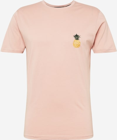 !Solid Тениска 'Ruben' в жълто / зелено / светлорозово, Преглед на продукта