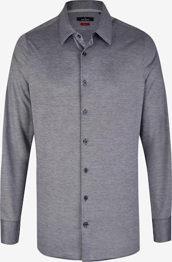 DANIEL HECHTER Pique-Jersey Hemd in navy, Produktansicht