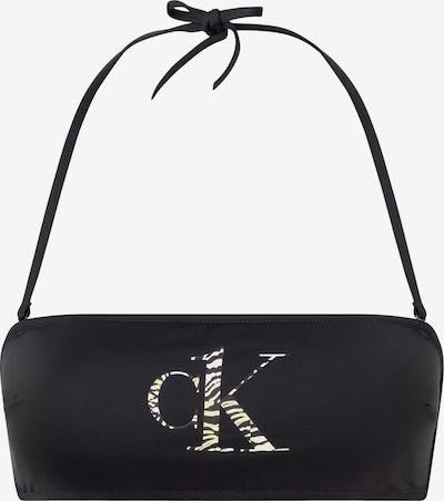 Calvin Klein Swimwear Bandeau Bikini in schwarz, Produktansicht