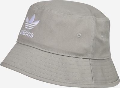 ADIDAS ORIGINALS Chapeaux en gris / blanc, Vue avec produit