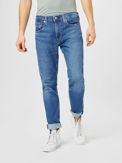 LEVI'S Jeans '512™ SLIM TAPER LO BALL' in blue denim, Modelansicht