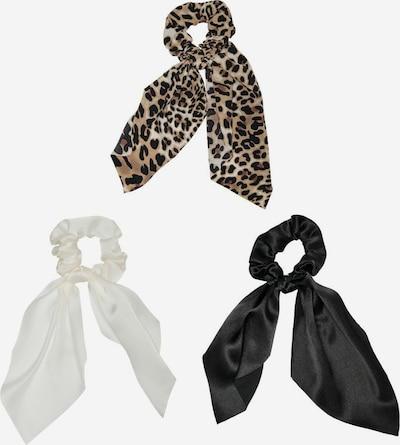 KIDS ONLY Haargummi in beige / braun / schwarz / weiß, Produktansicht