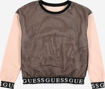 GUESS Sweatshirt 'TERRY' in rosa / schwarz, Produktansicht