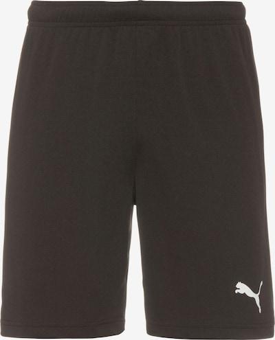 Sportinės kelnės 'teamRISE' iš PUMA, spalva – juoda / balta, Prekių apžvalga