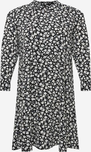 Dorothy Perkins Curve Blousejurk in de kleur Lichtblauw / Zwart / Wit, Productweergave