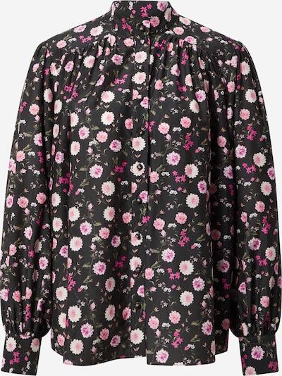 The Kooples Блуза в маслина / розово / бледорозово / антично розово / черно, Преглед на продукта