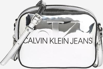 Calvin Klein Jeans Umhängetasche in schwarz / silber, Produktansicht