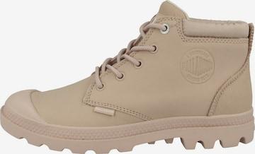 Palladium Boots ' Pampa Low ' in Beige