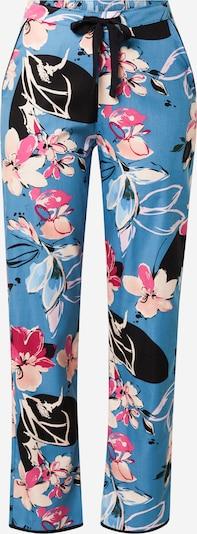 Cyberjammies Pyjamabroek 'Hannah Turq' in de kleur Lichtblauw / Pink / Rosa / Poederroze / Zwart, Productweergave