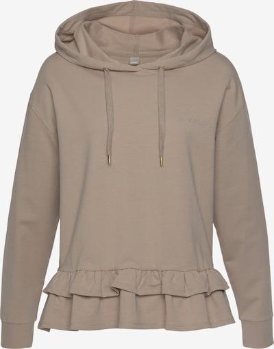 BENCH Kapuzensweatshirt in beige, Produktansicht