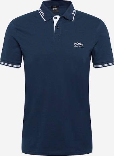 BOSS ATHLEISURE Camiseta 'Paul' en azul oscuro / blanco, Vista del producto