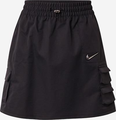 Nike Sportswear Falda en negro / blanco, Vista del producto
