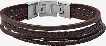 FOSSIL Armband in Braun