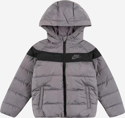 Nike Sportswear Jacke in dunkelgrau / schwarz, Produktansicht
