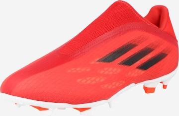 sarkans ADIDAS PERFORMANCE Futbola apavi 'X Speedflow'