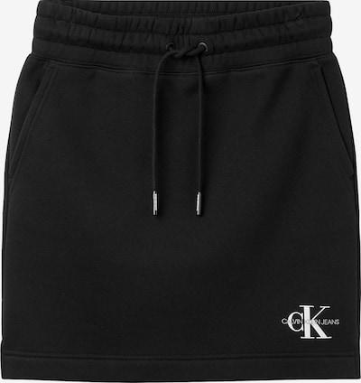 Calvin Klein Jeans Sukně - černá / bílá, Produkt