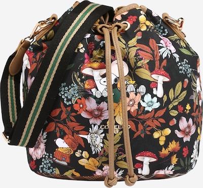 Geantă tip sac CODELLO pe mai multe culori / negru, Vizualizare produs