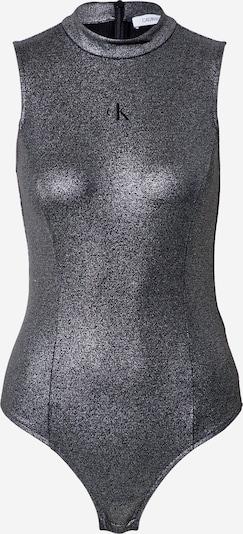 Calvin Klein Jeans Košeľové body - striebornosivá / čierna, Produkt