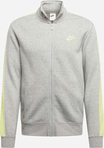 Veste de survêtement Nike Sportswear en gris