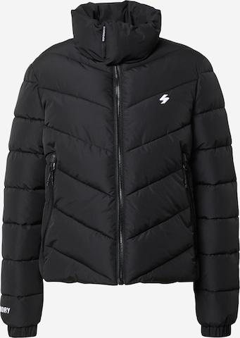 Superdry Between-Season Jacket in Black
