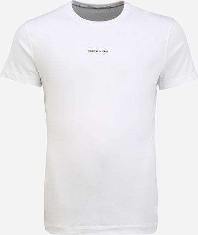 Calvin Klein Jeans T-shirt i vit, Produktvy