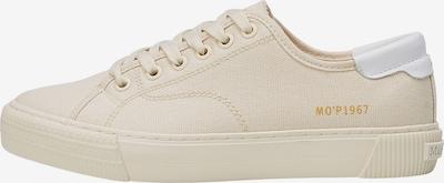 Marc O'Polo Sneaker in beige / gold / weiß, Produktansicht