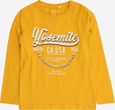 NAME IT Shirt 'VUX' in de kleur Geel / Zwart / Wit, Productweergave